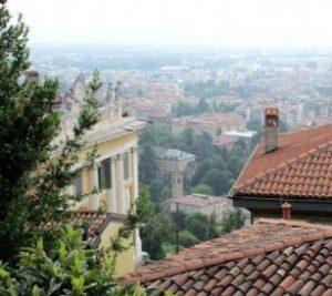 Bergamo Città Alta, Via Mayr, affittasi splendido e panoramico appartamento