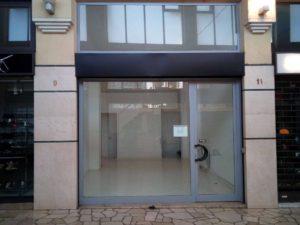 Bergamo Galleria Fanzago Cosimo affittasi grazioso negozio di 40 mq